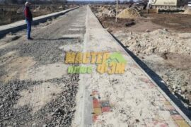 Укладка тротуарной плитки в БОРОДЯНКЕ