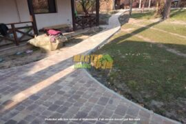 Укладка тротуарной плитки старая площадь в ВОРЗЕЛЕ