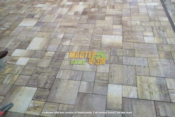 укладка тротуарной плитка Лайстоун 30
