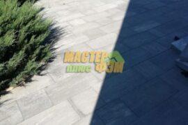 Укладка тротуарной плитки Лайнстоун грейс в Вышгороде